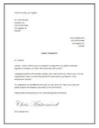 resignation format resignation format with one month noticesimple