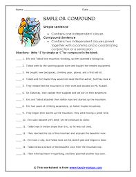 classifying sentences worksheets descargardropbox