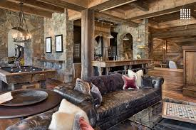 Game Room Interior Design - rustic game room with columns by locati architects zillow digs