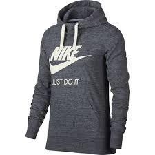 nike women u0027s gym vintage logo hoodie academy