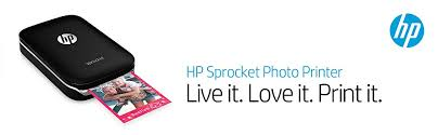 amazon com hp sprocket portable photo printer print social media