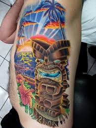 10 best tiki tattoos images on pinterest chicago feelings and hands