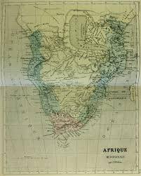 Southern Africa Map Map Of Southern Africa 1854