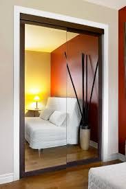 Installing Sliding Mirror Closet Doors by Mirrored Sliding Closet Doors Installation Home Design Ideas