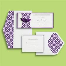 purple wedding invitation kits 83913 brides invitation kit 30 per box on sale at ollie s for