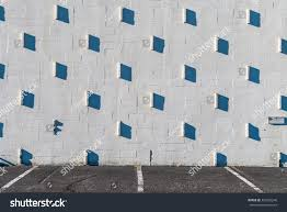 Exterior Wall Design Stucco Wall Shadows Granite Wall Studs Stock Photo 320253248