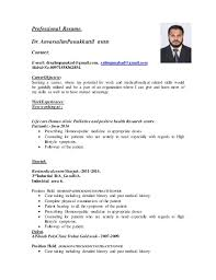 simple cv format for freshers doctor sle resume bhms doctor resume ixiplay free resume sles