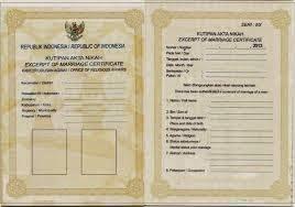 cara memperoleh atau membuat surat nikah serba serbi guru