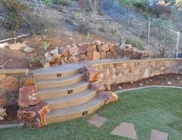 Backyard Retaining Wall Ideas Retaining And Landscape Wall Pictures Gallery Landscaping Network