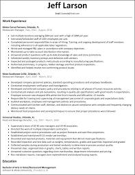 general manager resume sample amazing resume for restaurant manager 5 unforgettable general templates cv example job marvellous design resume for restaurant manager 13 restaurant manager resume