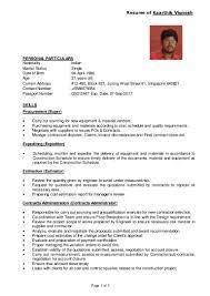 Expeditor Resume Resume Kaarthik Vignesh