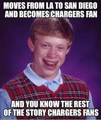 San Diego Meme - bad luck brian meme imgflip