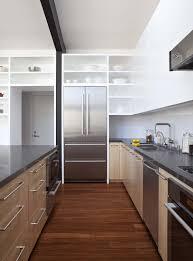 kitchen minimalist loft kitchen design on stone tile floor with
