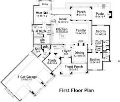 craftsman style house plan 3 beds 2 50 baths 2495 sq ft plan