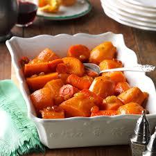 Thanksgiving Carrots Sweet Potato U0026 Carrot Casserole Recipe Taste Of Home