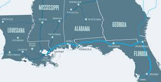 Amtrak Map East Coast Officials Ask For Public Input On Restoring Gulf Coast Amtrak