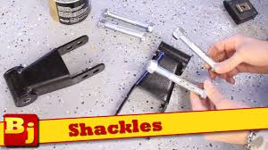 how to install shackles youtube