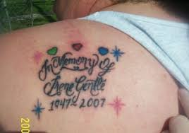 30 in loving memory tattoos which look lovely creativefan