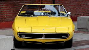 maserati spyder 2005 1969 maserati ghibli spyder grabs 920k at auction