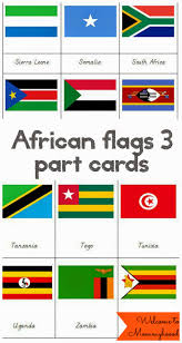 African Flag African Landmark Printables Welcome To Mommyhood