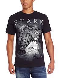 hbo u0027s game of thrones men u0027s winter is coming stark t shirt amazon