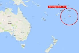 niue on world map family of four dramatically rescued from remote south