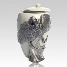 funeral urns for ashes scattering cremated remains in a scattering garden