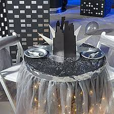 New York City Themed Party Decorations - go back in time with 20s 50s 60s 70s and 80s prom themes
