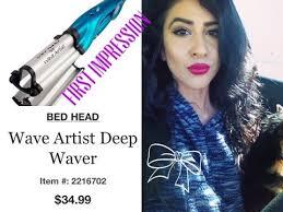 Bed Head Waver Artist Deep Waver Tigi Bedhead Wave Artist Review Tutorial Makeup Guides