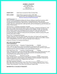 well written resume exles it is necessary to make well organized college golf resume a well