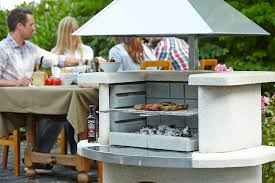 buschbeck venedig masonry barbecue free stainless steel fire
