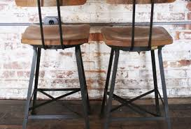 bar best industrial metal bar stools with backs 61 in home