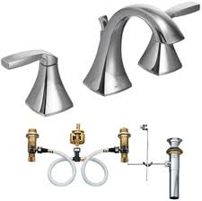 moen t6905 9000 two handle high arc bathroom faucet with