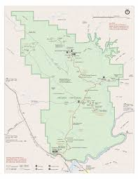 Big Bend National Park Map Arches National Park
