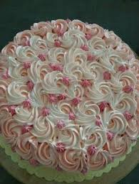 cake decorations how to make easy buttercream rosettes cake decorating for