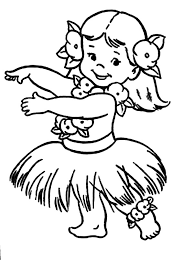 chubby hula coloring pages coloring sky