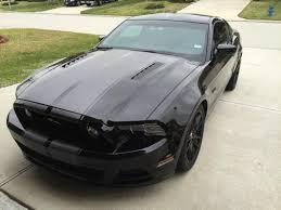 1995 Black Mustang Speedform Mustang Gloss Black Coyote Style 5 0 Emblem 389616