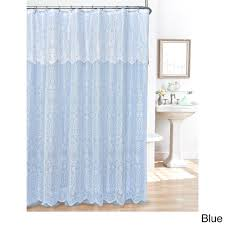 Aqua Blue Shower Curtains Blue Shower Curtains For Less Overstock Vibrant Fabric