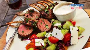 rack of lamb with lemon thyme and mint love food