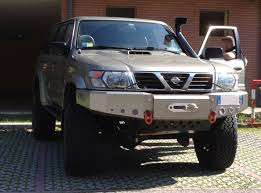 mitsubishi adventure modified nissan patrol gr y61 rta ready to adventure from n e italy