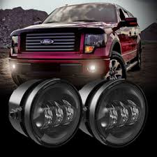 Led Fog Light Jw Speaker Model 6146 12v F150 2011 2014 Fog Kit Chrome