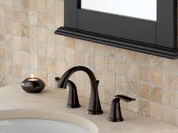 Pewter Bathroom Faucet by Faucet Com 3538lf Pt In Aged Pewter By Delta