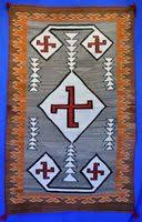 17x29 authentic navajo indian rug tapestry daisy tauglechee two