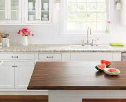 Kitchen Countertops Laminate by Quartz And Granite Countertops Comparison Countertop Buying