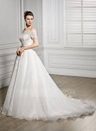 lace wedding gown gown the shoulder court organza lace wedding dress