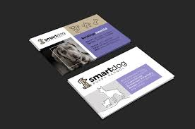 puppy business card template for photoshop u0026 illustrator