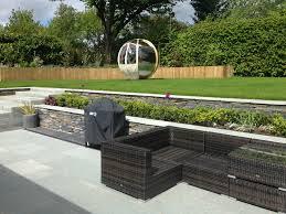 goscote design practice contemporary garden design slate