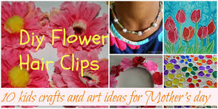 ten kids crafts and art ideas for mother u0027s day sparklingbuds