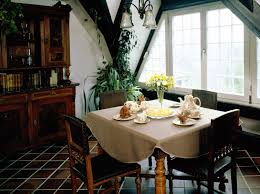 beautiful dining room with simple dining table wood irosi