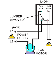 how to install and wire the honeywell l4064b combination furnace